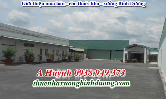 Cần Cho Thuê Xưởng Thuận An