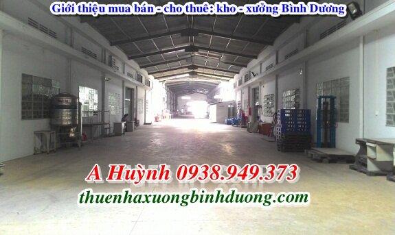 Cần Cho Thuê Xưởng ở Thuận An