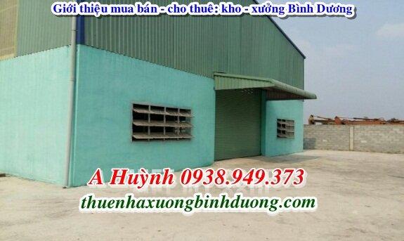 Cần Cho Thuê Xưởng Tại Thuận An Bình Dương